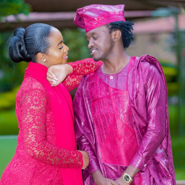 Diana weds Bahati
