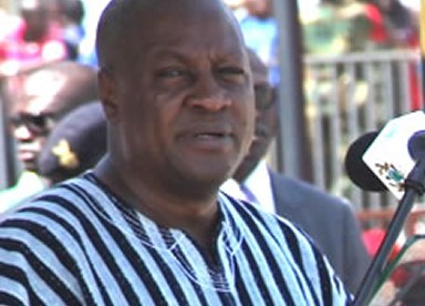 TOR is not for sale – President Mahama