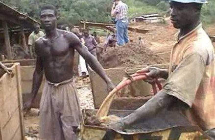 Wamanafo youth up in arms against illegal miners