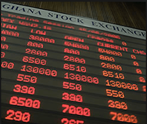 Ghana Stock Exchange composite index drops