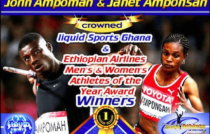Ampomah and Amponsah named best Athletes of the Year