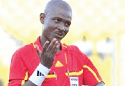 Ghana's referee Lamptey among 88 officials appointed for Rio 2016 football tournament