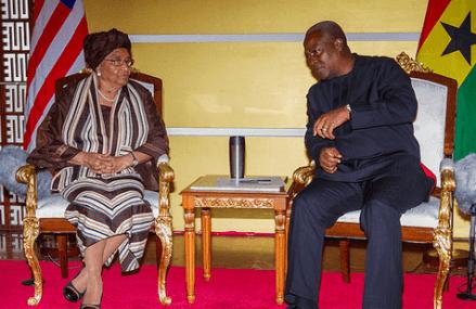 Ghana-Liberia to strengthen trade, security ties – Mahama