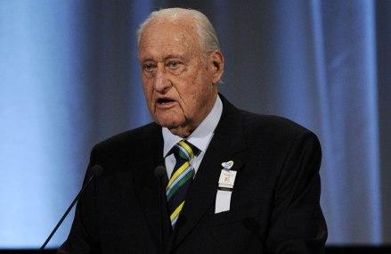 Ex-FIFA President Havelange dies at age 100