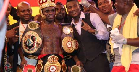 Tagoe wins IBO World Title