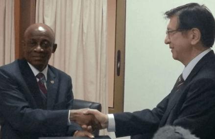 Ghana and Japan sign $100m loan agreement