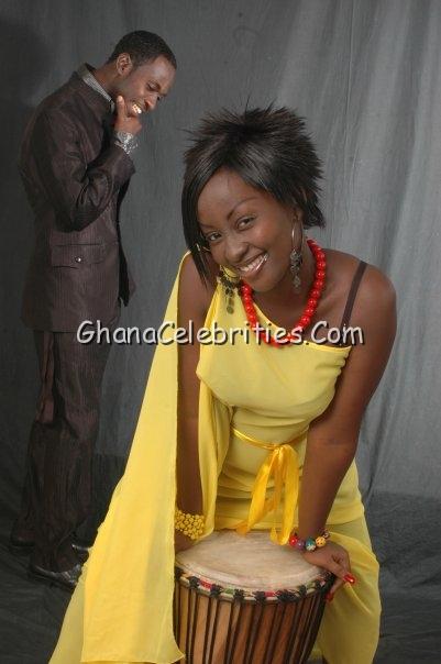 Okyeame Kwame & Wife