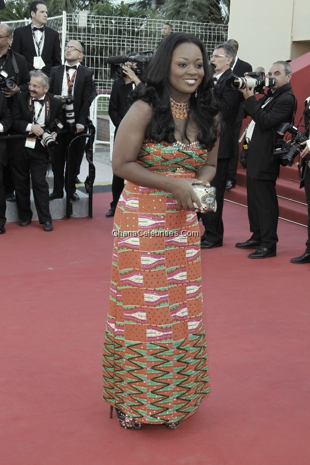 Jackie Appiah At Cannes Film Festival In May, 2012