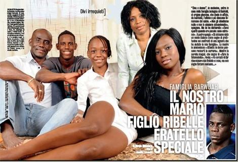 PHOTOS + The Mario Balotelli & The Barwuah Family Saga, Who Is ...