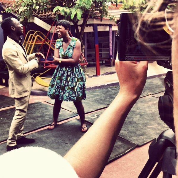 Ama K Abebrese On'A Day In the Life' Set With Okyeame Kwame