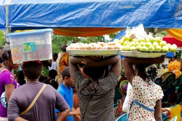 sellers in Ghana