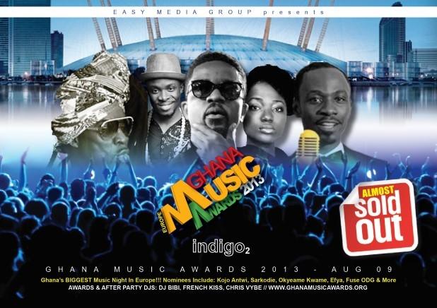 Ghana Music Awards 2013-UK