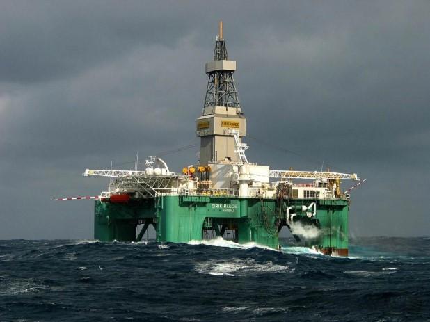 Ghana sea drilling