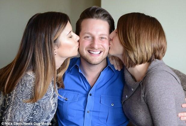 Jane, Adam and Brooke