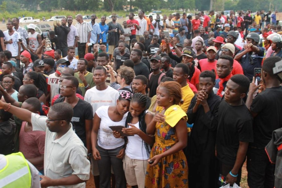 DumsorMustStop Vigil in Accra-Ghana