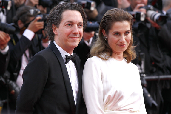 mmanuelle Devos & Guillaume Gallienne - Red carpet-FDC -Cyril Duchene