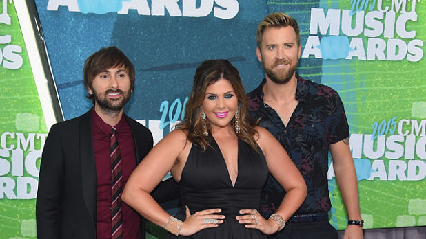 NASHVILLE, TN - JUNE 10: Musicians Dave Haywood, Hillary Scott and Charles Kelley attends the 2015 CMT Music awards at the Bridgestone Arena on June 10, 2015 in Nashville, Tennessee. (Photo by Larry Busacca/Getty Images)