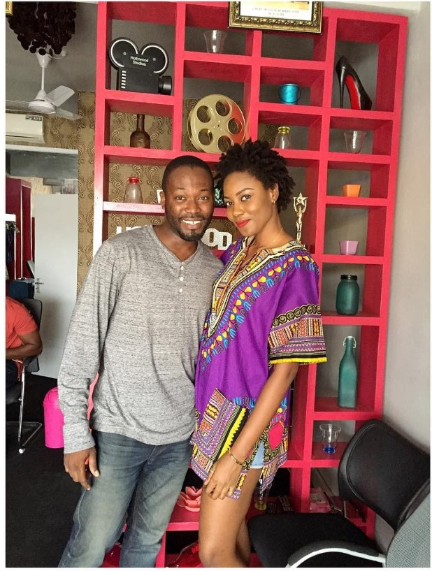 Yvonne Nelson and Adjetey Anang