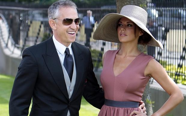 Gary Lineker and Danielle