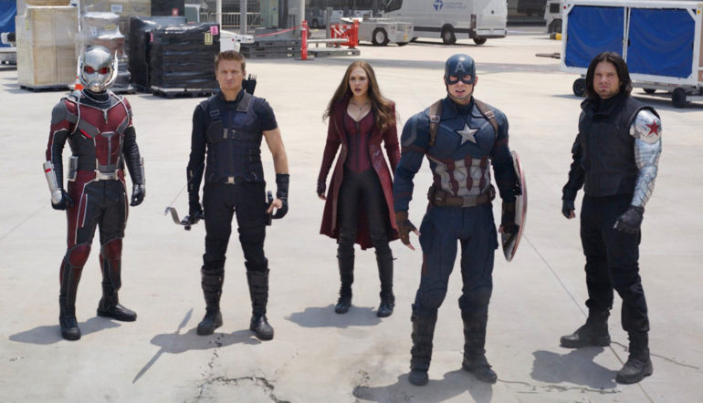 Captain America and his team