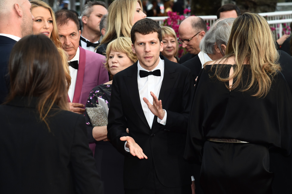 Mandatory Credit: Photo by Buckner/Variety/REX/Shutterstock (5682159bw) Jesse Eisenberg'Cafe Society' premiere and opening ceremony, 69th Cannes Film Festival, France - 11 May 2016