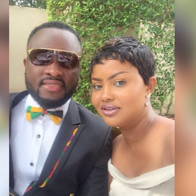 Maxwell Mensah and Nana Ama McBrown