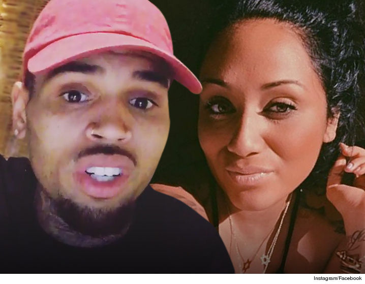 Nia and Chris Brown