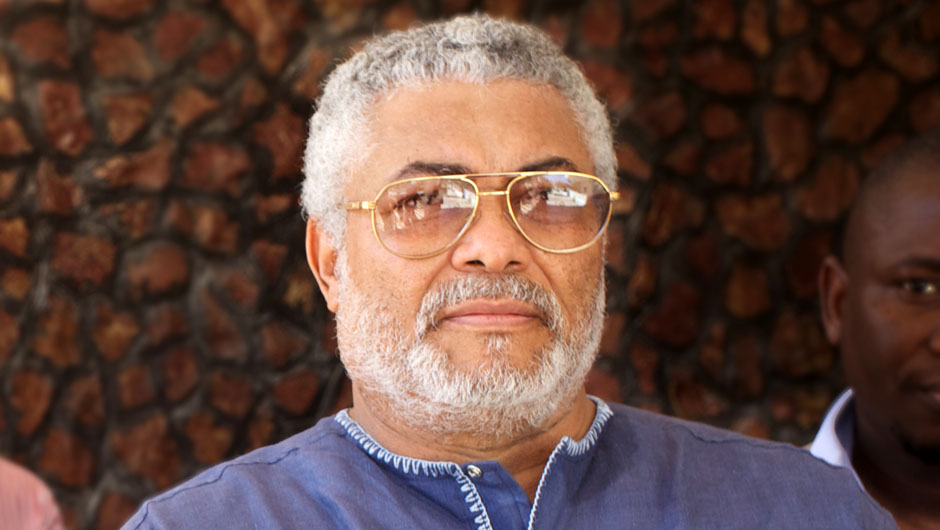 Jerry John Rawlings - Ex-president Rawlings Reacts To S*x For Grades Documentary