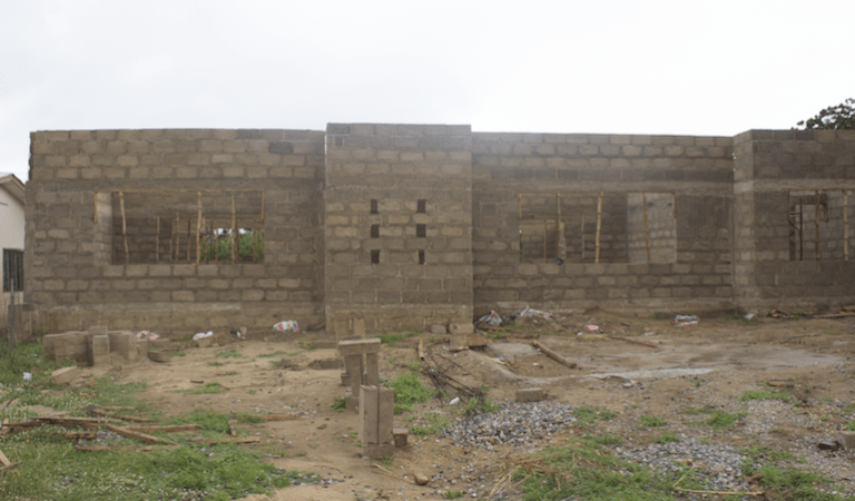 VIDEO + PHOTOS: Dr. Adu Boateng of EndPoint Homeopathic Clinic Builds A 6-Class Room Day Care With Resource Centre for University of Education-Winneba
