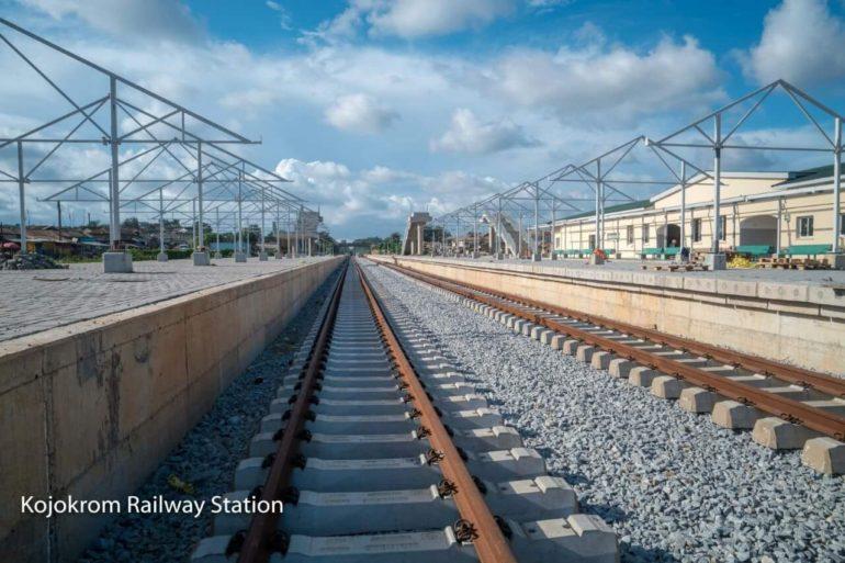 Kojokrom Railway Line and Station