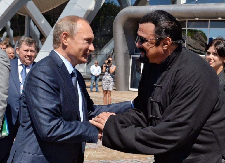 Steven Segal and Putin