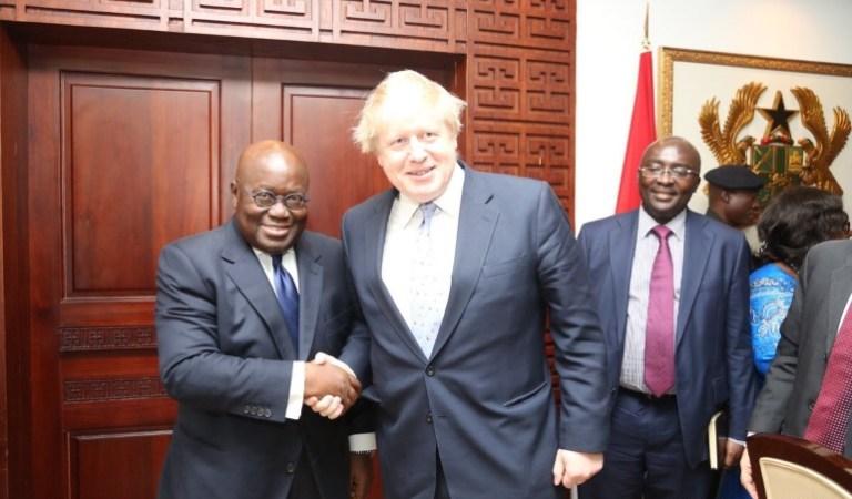 VIDEO: British Politician, Boris Johnson Refuses To Shake Hands With Black Men