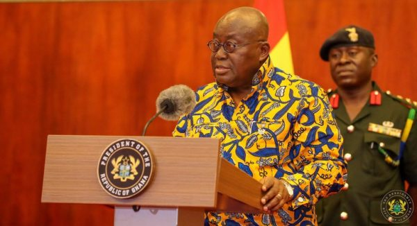 President Akufo-Addo Fires 'Corrupt' High Court Judges From Office