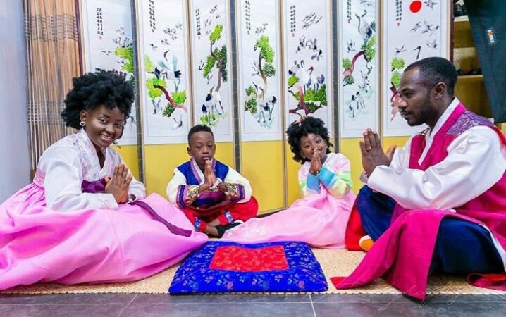 All The Times Okyeame Kwame And His Family Have Been GOALS And Made The World Envious