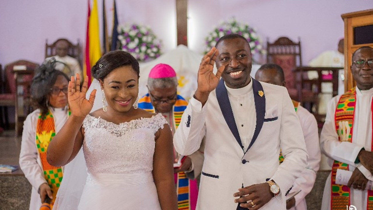 Check Out These Beautiful PHOTOS From The Wedding Of UTV Presenter Ama Sarpong Kumankuma - GhanaCelebrities.Com