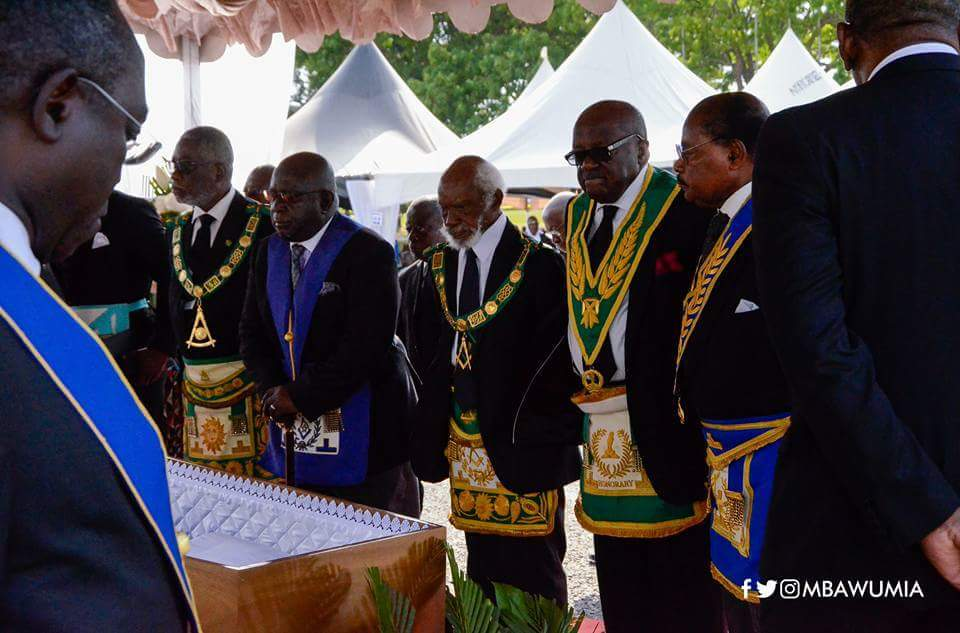 PHOTOS) Ghanaian Freemasons Captured On Camera As They