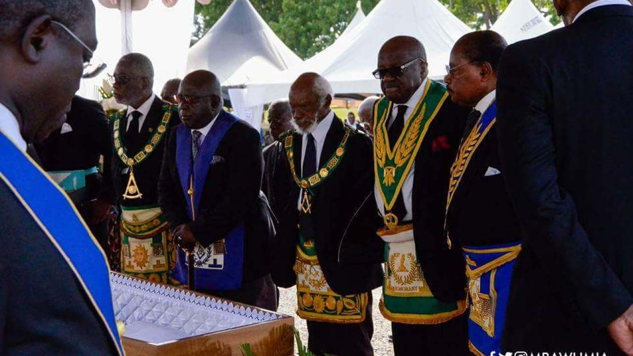 PHOTOS) Ghanaian Freemasons Captured On Camera As They Perform The