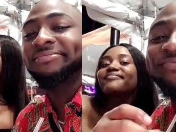 Just In: Davido's Girlfriend Chioma Gives Birth To A Baby