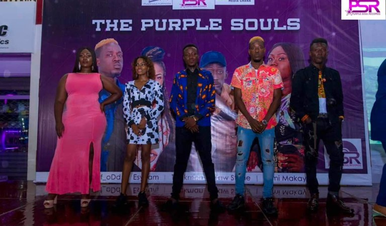 VIDEO + PHOTOS: Purple Souls Records Unveils A Set Of New Artistes Onto Their Record Label