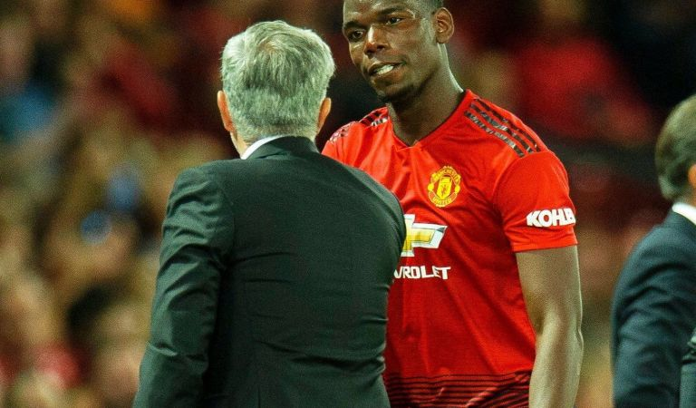 Paul Pogba Celebrates On Social Media After Sacking Of His Manager, Jose Mourinho