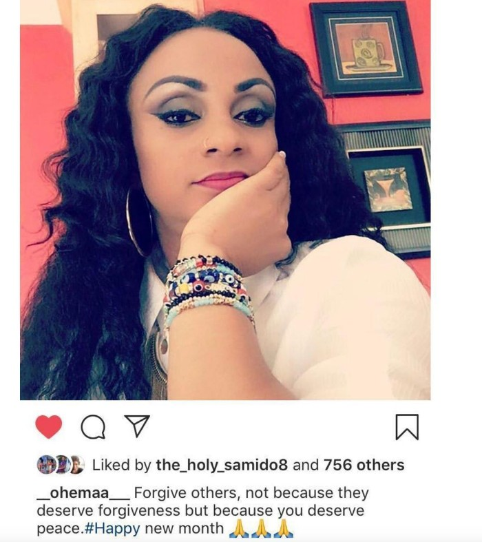 Capture - Looks Like Gifty Gyan is Ready to 'Forgive and Forget' Asamoah Gyan's Foolishness
