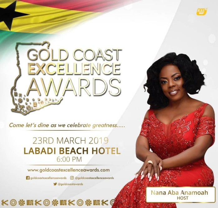 IMG 20190308 WA0001 - Nana Aba Anamoah to Host Gold Coast Excellence Awards — With A Prominent Male Celebrity to Be Announced Soon