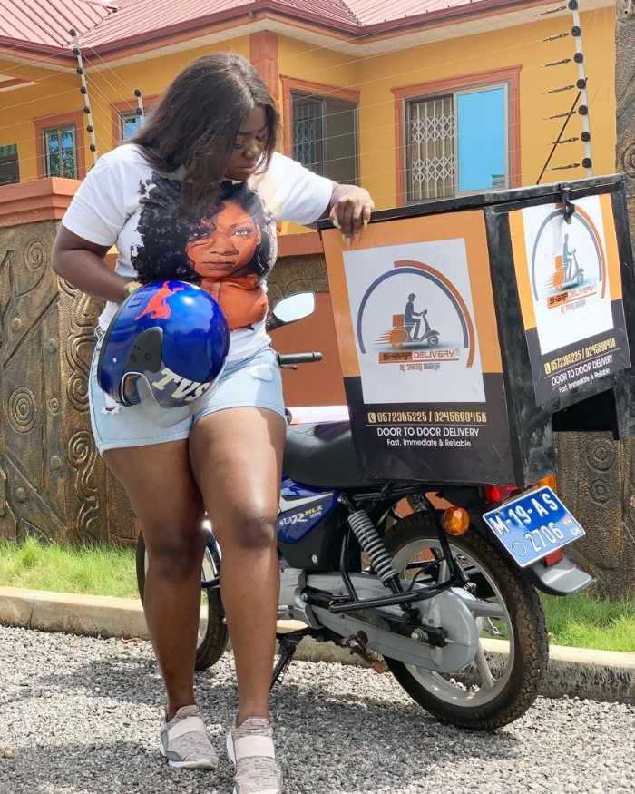 IMG 20190327 WA0005 - Actress Tracey Boakye Slays as a S*xy 'Delivery Girl' in these New PHOTOS