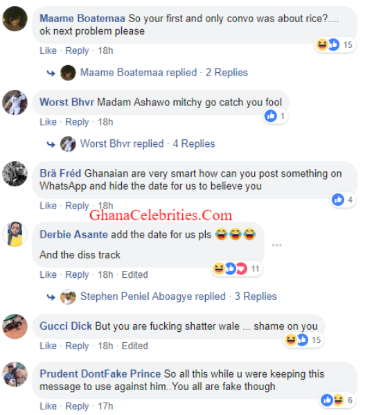 Magdalene Love expose - SCREENSHOTS: 'Shameless Ashawo, Keep Quiet Because You Don't Know How to Lie' — Facebook Users Tear Shatta Wale's 'Sister-Girlfriend', Magdalene Love Apart