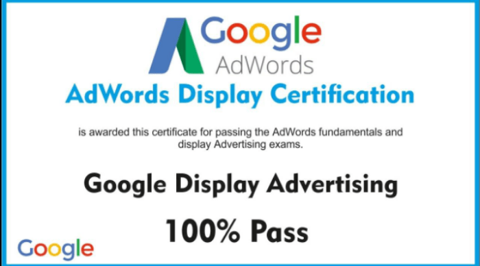 Google Certified Digital Marketing Course with Online Certificates
