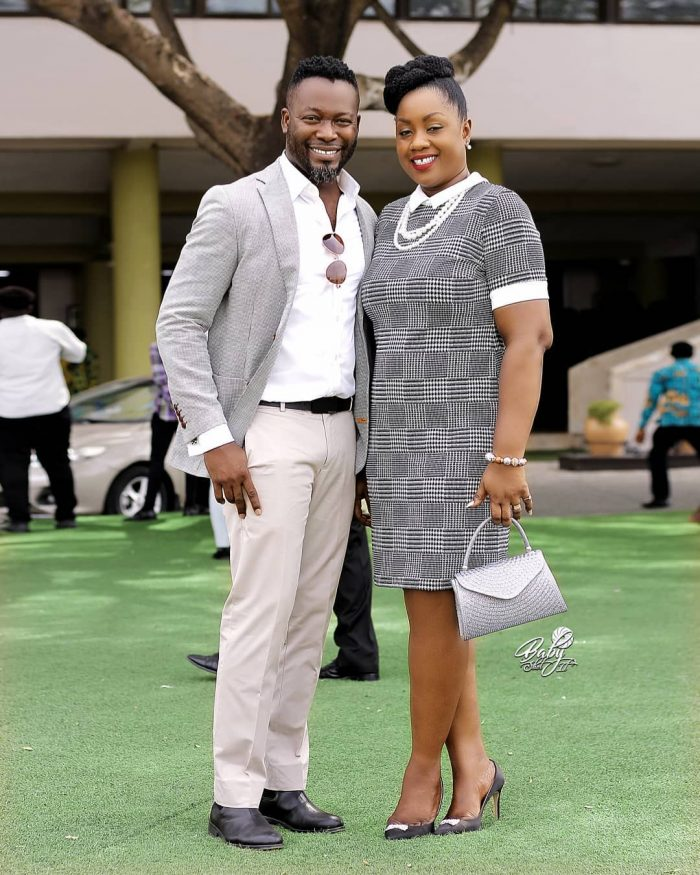 adjetey anang wife e1552294160600 - PHOTO: Actor Adjetey Anang And Wife Celebrate 12th Marriage Anniversary