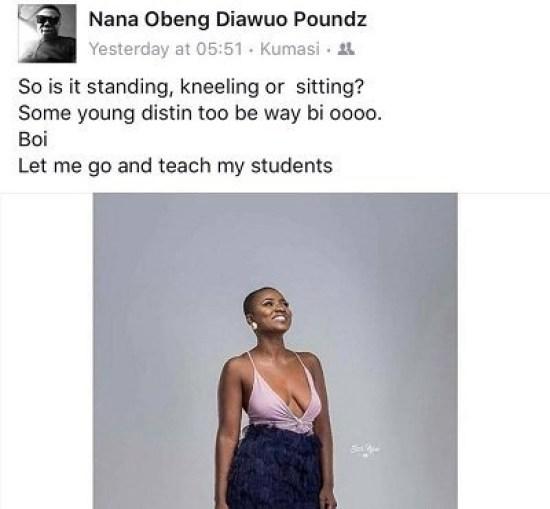 ahuofe breast - 'Things Fall Apart': Social Media Users Troll Ahuofe Patri For Exposing Her 'Fallen' Boobi — Check