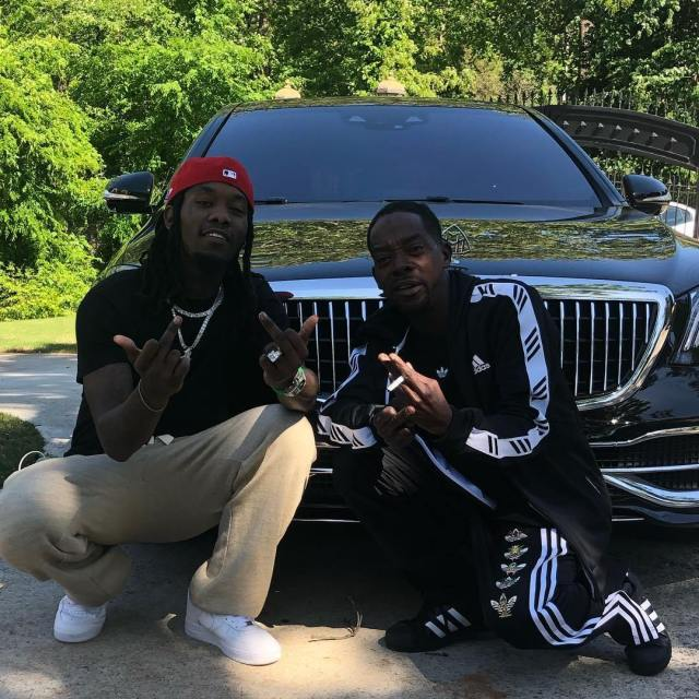 Offset n father - VIDEO+ PHOTO: Offset Reunites With His 'Lost' Father After 23 Years — WATCH
