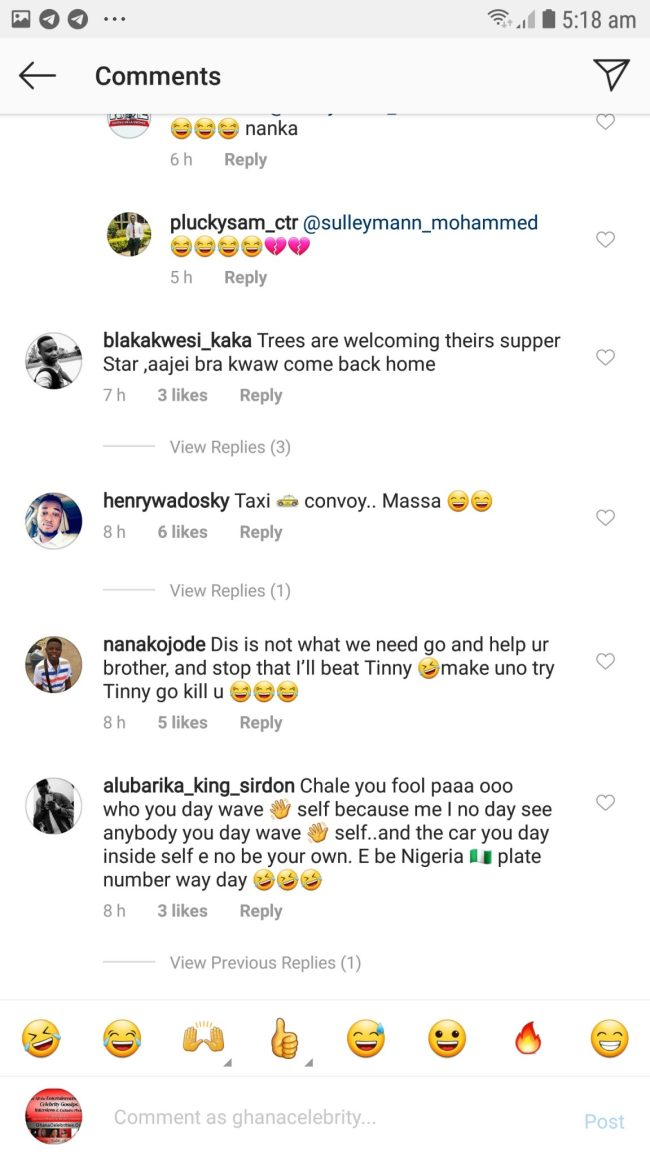 Screenshot 20190430 051858 GBInsta - PHOTO+SCREENSHOTS: Fans Of Kwaw Kese Mock Him For This Reason –SEE