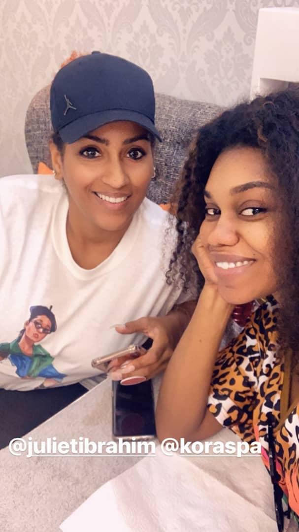 Photo Once Dark Skinned Becca Now Looks Fairer Than Juliet Ibrahim Ghanacelebrities Com